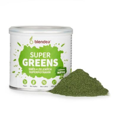 Blendea Supergreens BIO (30 porcí)