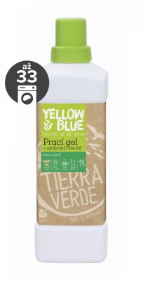Yellow&Blue Prací gel bez vůně (1 l)