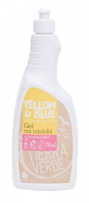 Yellow&Blue Gel na nádobí (750 ml)