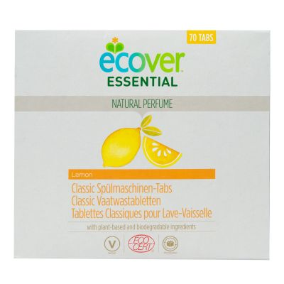 Ecover Essential Tablety do myčky Classic Citron (1,4 kg)
