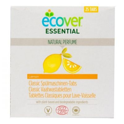 Ecover Essential Tablety do myčky Classic Citron 500 g
