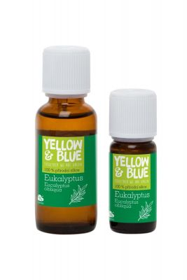 Yellow&Blue Eukalyptová silice (30 ml)