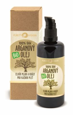 Purity Vision Arganový olej RAW BIO (100 ml)