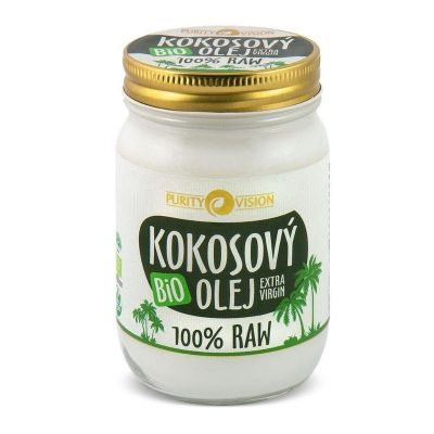 Purity Vision Kokosový olej RAW BIO (370 ml)