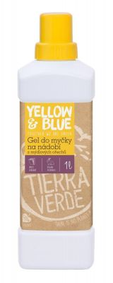 Yellow&Blue Gel do myčky na nádobí (1 l)