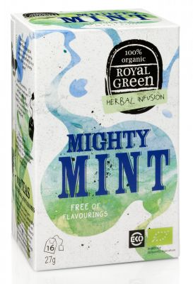 Royal Green Mátový čaj Mighty Mint BIO (27 g)